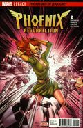Phoenix Resurrection The Return of Jean Grey (2017 Marvel) 2A