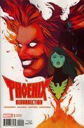 Phoenix Resurrection The Return of Jean Grey (2017 Marvel) 2C