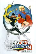 Heroes Convention Program Book Charlotte (1992) 2011