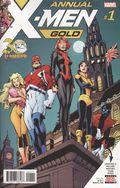 X-Men Gold (2017) Annual 1