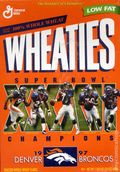 Collectible Cereal Box: General Mills (1924-Present) 1998WHA