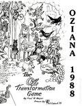 Oziana (1971) Fanzine 18
