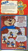 Collectible Cereal Box: Post (1947-Present) 1987SGCTOYN