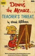 Dennis the Menace Teacher's Threat PB (1960 Fawcett Crest) 1-REP