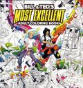 Bill and Ted's Most Excellent Adult Coloring Book SC (2018 Boom Studios) 1-1ST