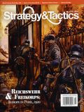 Strategy and Tactics (1967-Present Decision Games) War Game Magazine 273