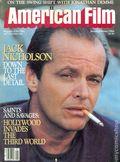 American Film (1977-1992 American Film Institute) Magazine Vol. 9 #4