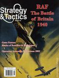 Strategy and Tactics (1967-Present Decision Games) War Game Magazine 256