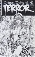 Grimm Tales of Terror Black and White (2018 Zenescope) Reprint 1C