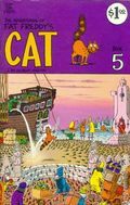 Adventures of Fat Freddy's Cat (1977-1992 Rip Off Press) #5, 1st Printing