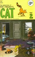 Adventures of Fat Freddy's Cat (1977-1992 Rip Off Press) #2, 5th Printing