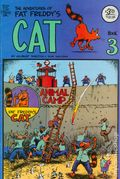 Adventures of Fat Freddy's Cat (1977-1992 Rip Off Press) #3, 7th Printing