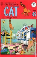 Adventures of Fat Freddy's Cat (1977-1992 Rip Off Press) #6, 4th Printing