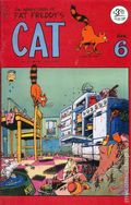 Adventures of Fat Freddy's Cat (1977-1992 Rip Off Press) #6, 5th Printing