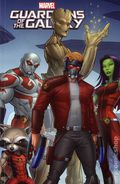 Marvel Universe Guardians of the Galaxy TPB (2016 Digest) 6-1ST