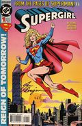 Supergirl (1994 Limited Series) 1DF.SIGNED