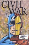 Civil War (2015 Marvel) Secret Wars 1SKETCH