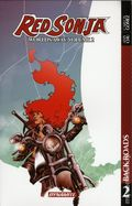 Red Sonja Worlds Away TPB (2017 Dynamite) 2-1ST