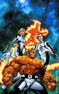 Fantastic Four Poster (2012 Marvel) By Mark Bagley ITEM#1