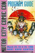 Motor City Comic Con Program Guide (1995) 199603