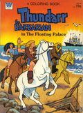 Thundarr the Barbarian The Floating Palace Coloring Book SC (1982 Golden Books) 1-1ST