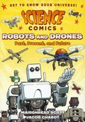 Science Comics Robots and Drones GN (2018 First Second Books) Past, Present and Future 1-1ST