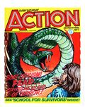 Action (1976-1977 U.K. IPC) 2nd Series Nov 5 1977