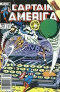 Captain America (1968 1st Series) Canadian Price Variant 314