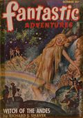 Fantastic Adventures (1939-1953 Ziff-Davis Publishing) Pulp Oct 1947