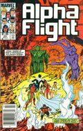 Alpha Flight (1983 1st Series) Canadian Price Variant 24