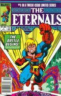 Eternals (1985 2nd Series) Canadian Price Variant 1