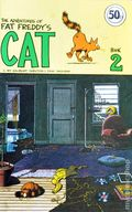Adventures of Fat Freddy's Cat (1978-1979 Hassel Free Press) UK Edition 2