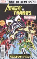 True Believers Avengers vs Thanos (2018) 1