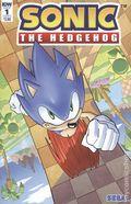 Sonic The Hedgehog (2018 IDW) 1B