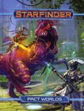 Starfinder The Pact World HC (2018 Paizo) Role-Playing Game 1-1ST