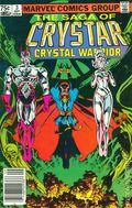 Saga of Crystar (1983 Marvel) Canadian Price Variant 3