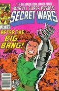 Marvel Super Heroes Secret Wars (1984) Canadian Price Variant 12