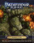 Pathfinder Flip-Mat: Forest Fire (2018 Paizo) RPG ITEM#1