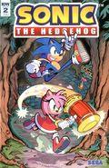 Sonic The Hedgehog (2018 IDW) 2RIB