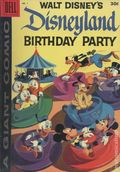 Dell Giant Disneyland Birthday Party (1958) 1C-30C
