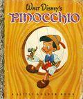 Walt Disney's Pinocchio HC (1939) A Little Golden Book 1-REP