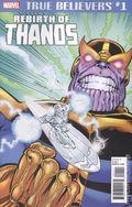 True Believers Rebirth of Thanos (2018) 1