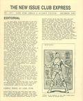 New Issue Club Express (1982 Lone Star Comics) 107