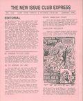 New Issue Club Express (1982 Lone Star Comics) 108