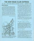 New Issue Club Express (1982 Lone Star Comics) 109