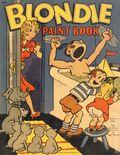 Blondie Paint Book (circa 1955) 629