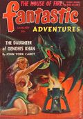 Fantastic Adventures (1939-1953 Ziff-Davis Publishing) Pulp Jan 1942