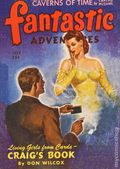 Fantastic Adventures (1939-1953 Ziff-Davis Publishing) Pulp Jul 1943