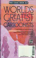 Worlds Greatest Cartoonists (2018 Fantagraphics) FCBD 0