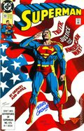 Superman (1987 2nd Series) 53CAS.SIGNED